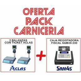 PACK CARNICERIA 2 BALANZAS...